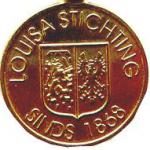 Draagpenning voor correspondenten van de Louisa Stichting.